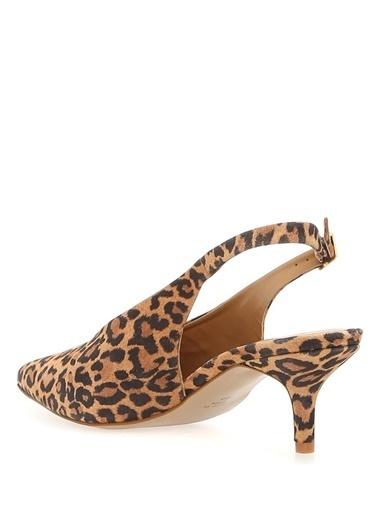Carvela İnce Topuklu %100 Deri Ayakkabı Renkli